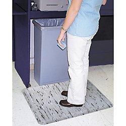Office Depot K-Marble Foot Anti-Fatigue Mat, 24in. x 36in., Gray/Black/White, 064-0700-23 Office Depot Floor Mats