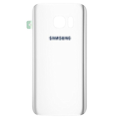 Lot of 2 Back Rear Glass Cover for Samsung Galaxy S7 w/Adhesive White SM-G930 from Group Vertical
