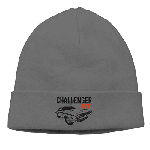Pautabely Unisex Mopar - 1971 Dodge Challenger Printing Warm Hats for Mens Women Boys & Girls One Size Deep Heather -
