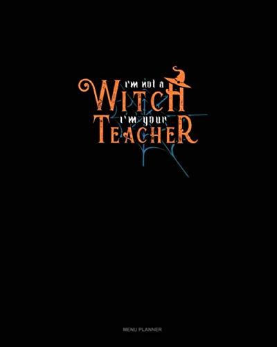 I'm Not a Witch I'm Your Teacher: Menu