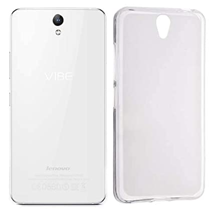 check out 508b5 6736b CaseRepublic Transparent Back Cover for Lenovo Vibe S1 (Soft & Flexible  Back Cover)
