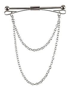 Eclectic Shop Uk Hombre Premium Corbata Accesorio Clip Pasador ...