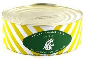 WSU Wazzu Creamery Cougar Gold Cheddar (University Cheese)