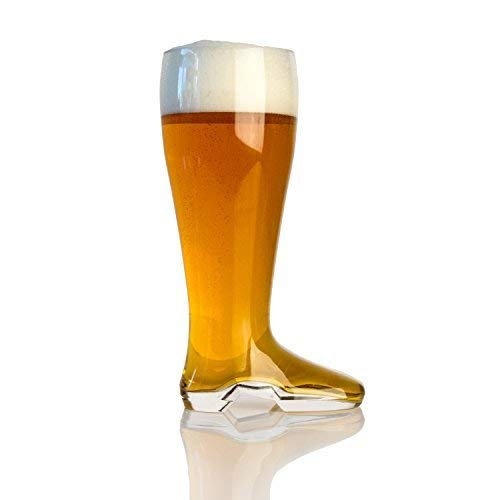 - Domestic Corner - Das Boot - 2 Liter Large Beer Boot Oktoberfest Drinking Mug - Holds Over 5 Beers