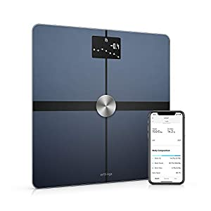 Withings Body+ – Digital Wi-Fi Smart Scale with Automatic Smartphone App Sync, Full Body Composition Including, Body Fat…