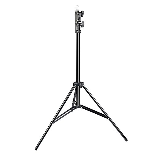 UTEBIT Video Light Stand 7ft with 1/4 Screw Aluminum Adjustable 2m Standing Lights for Reflectors Softboxes LED Lights Umbrellas HTC VIVE by UTEBIT