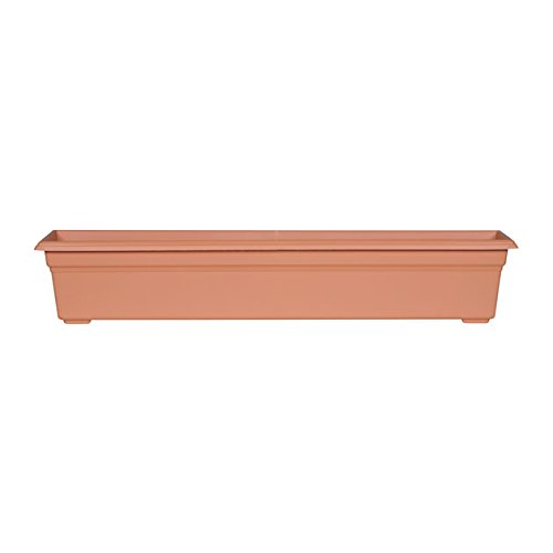 Cheap  Countryside Flower Box Planter, Terracotta, 36-Inch
