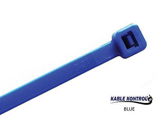 small blue zip ties - 3