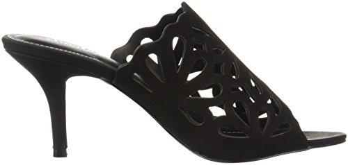 Charles Door Charles David Women Nicki Slide Sandaal Zwart