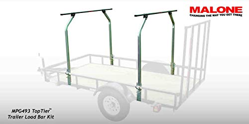 (Malone Auto Racks Top Tier Utility Trailer Cross Bar System)