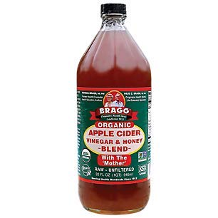 Bragg Organic Apple Cider Vinegar Blends, Honey Blend, 32 Ounce (Apple Cider Vinegar And Honey Drink Recipe)