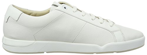 HUGO Herren Fusion_Tenn_ltexo 10195392 01 Low-Top Weiß (White 100)