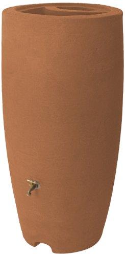 Algreen Products Athena Rain Barrel 80 Gallon Terracotta