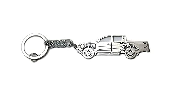Amazon.com: Keychain With Ring For Mitsubishi L200 V 2015 ...