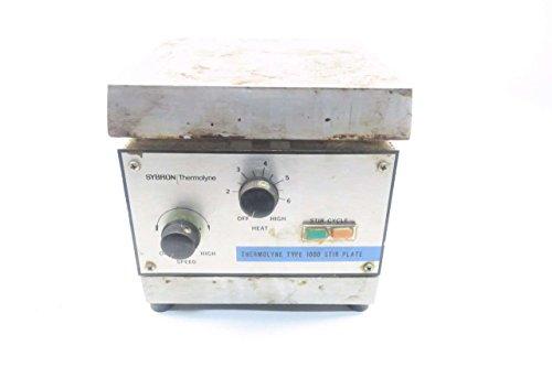 Thermolyne Type (THERMOLYNE SPA1025B SYBRON TYPE 1000 STIR PLATE 120V-AC D551354)