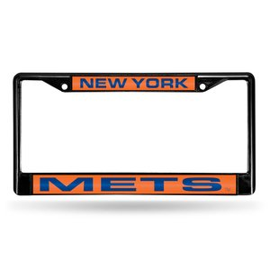 (Rico Industries MLB New York Mets License Plate Frame, One Size, Team Color)