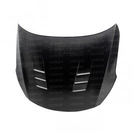 Seibon TS-Style Carbon Fiber Hood for 2010-2015 Kia Optima ()