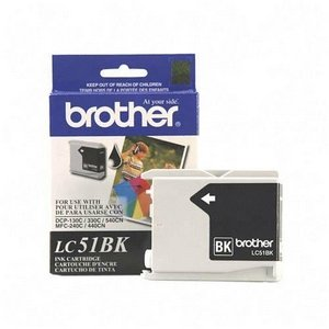 Brother International LC51BK Blk Ink MFC240c 440cn 665cw