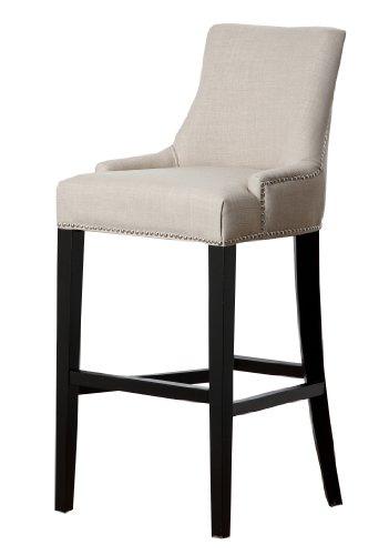 upholstered bar stools with backs - 6