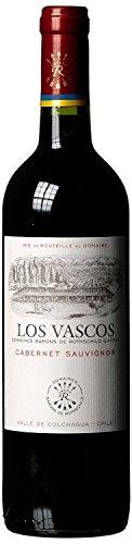 Domaines Barons de Rothschild (Lafite) Los Vascos Cabernet Sauvignon 2014/2015 trocken (1 x 0.75 l)
