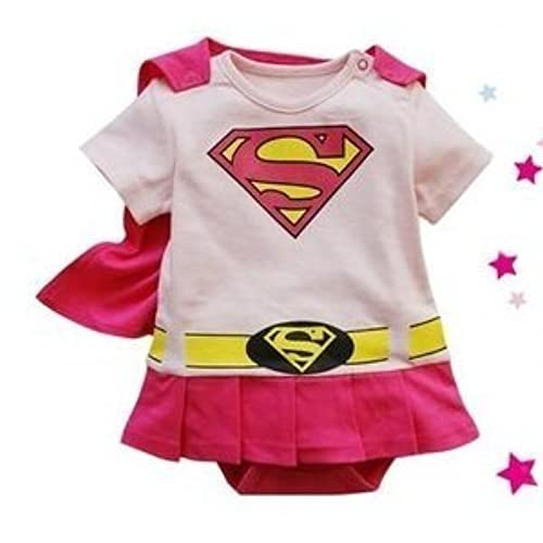 Spiderman Superman Batman Supergirl Baby Toddler All in 1 Fancy Dress Outfit Romper Suits with Cape (70 (0-6month) Supergirl)  sc 1 st  Amazon.com & Robin Onesie: Amazon.com
