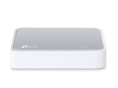 TP-Link 5 Port Fast Ethernet Switch | Desktop Ethernet Splitter | Ethernet Hub | Plug and Play | Fanless Quite | Unmanaged (TL-SF1005D) by TP-Link (Image #1)