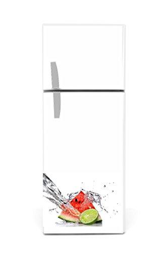 Réfrigérateur Autocollants Pastèque Citron 60x 90cm