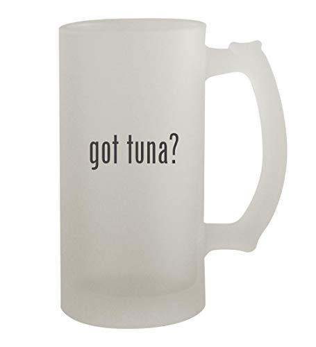 got tuna? - 16oz Frosted Beer Mug Stein, Frosted