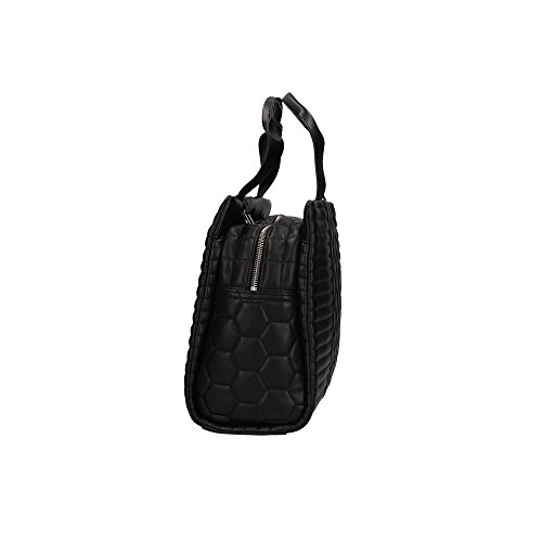 Leather Jeans Quilted Armani Black Eco Leather Shopper Bag Black T8xqSdxw