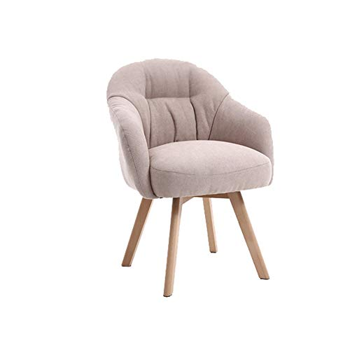 WF-chairs Lazy Chair - Art Sofa Chair for Home/Balcony/Net Red Chair/Desk/Computer Table/Gift Light Gray 61x61x81CM Modern Style (Color : Amarillo)