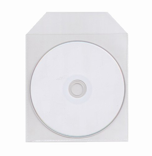 5,000 CPP Clear Plastic Sleeve with Flap
