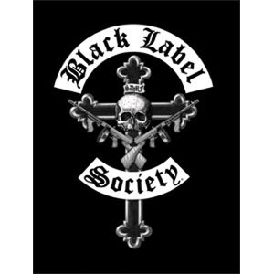 Black Label Society - Crucifix Fabric Poster 30 x (Label Society Poster)