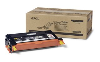 Xerox Phaser® 6180 Yellow Toner Cartridge, High Capacity (6,000 Yield), Part Number 113R00725, Office Central