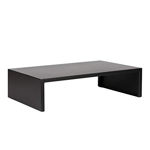 DESIGNA Metal Monitor Stand,Black