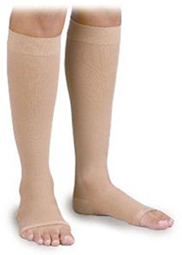 Surgical Weight Activa - Activa Surgical Weight 30-40 mmHg Knee High Open Toe Stockings, Beige, Small