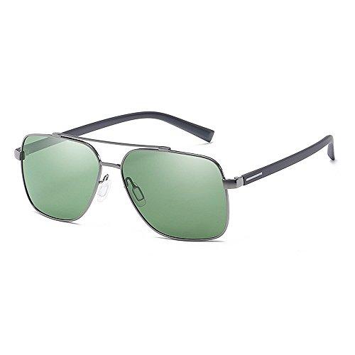 Aviador Yxsd de con Gafas Protección de Hombre de UV400 de SunglassesMAN para Sol Marco Metal qXWdwCppx1