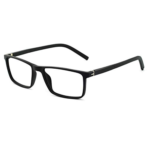 - OCCI CHIARI Non-Prescription Eyewear Frame Clear Eyeglasses Men Optical Glasses Black