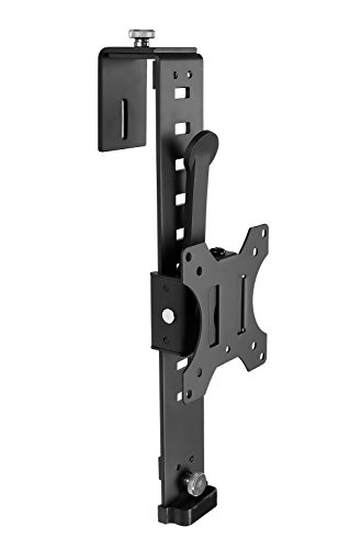 Mount-It! Cubicle Monitor Mount Hanger Attachment, Hanging Height Adjustable VESA Bracket for a 17