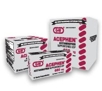 Acephen Acetaminophen Rectal Suppositories, 650mg, 50ct