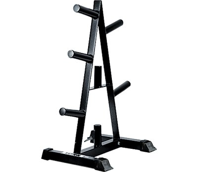York Barbell 69036 Olympic A-Frame Plate Tree Black by York Barbell