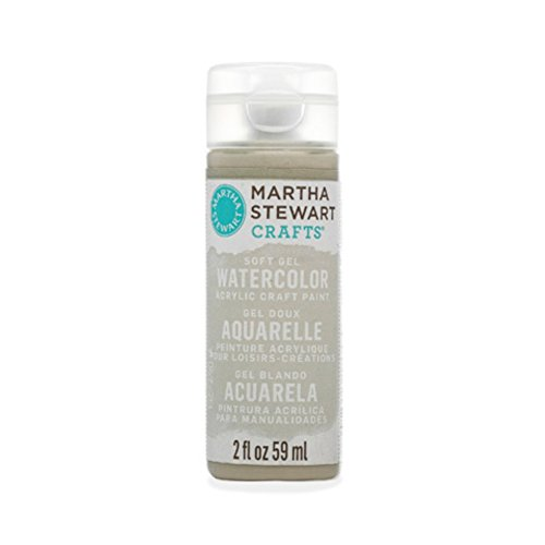 Martha Stewart Crafts Soft Gel Watercolor Acrylic Paint in Assorted Colors (2 ounce), 33448 Wet -