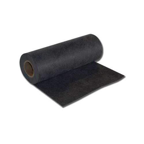 Black Medium (1.8 oz) Firm Tearaway 23'' x 25 Yd Roll Embroidery Stabilizer by StabilStitch