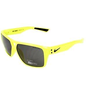 Nike Grey Lens Charger Sunglasses, Volt/Black