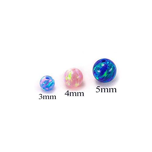 Painful Pleasures Opal Captive Bead - Price Per 1-3mm ~ 1/8
