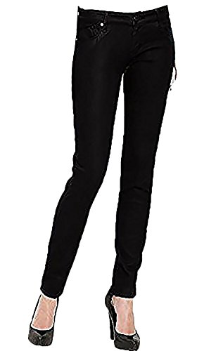 (DYLAN GEORGE ALEXA CONTEMPORARY FIT SKINNY JEANS (SPARROW, WAIST 28))