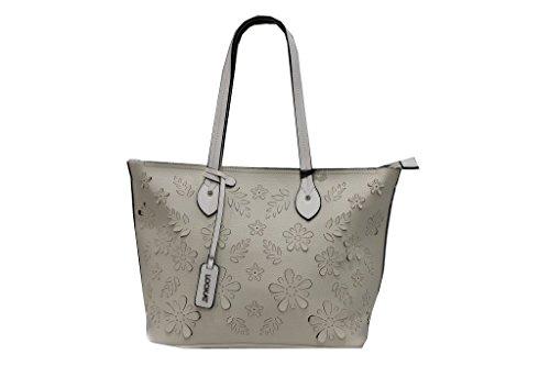 Borsa donna modello shopping a mano Lookat b823 beige