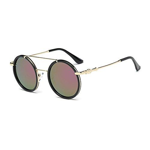 Dorara Round Retro Polaroid Sunglasses Driving Glasses Men or Women - Sunglasses Polaroid Online