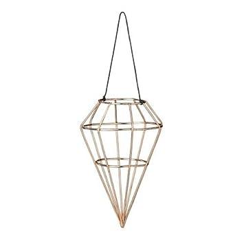 Amazon De Bloomingville Christbaumschmuck Ornament Kupfer