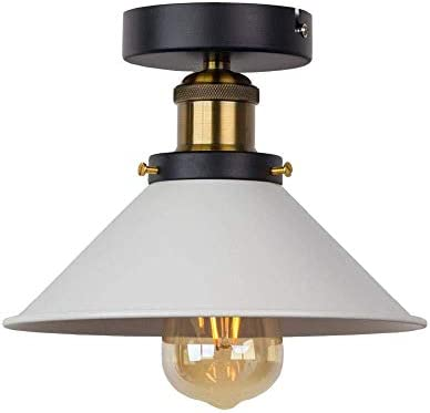 Lámpara De Techo Empotrada Lámparas De Techo Blanco E27 Luz De ...