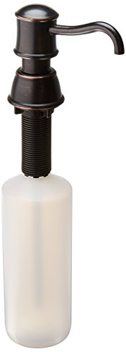 tuscan bronze soap dispenser - 9